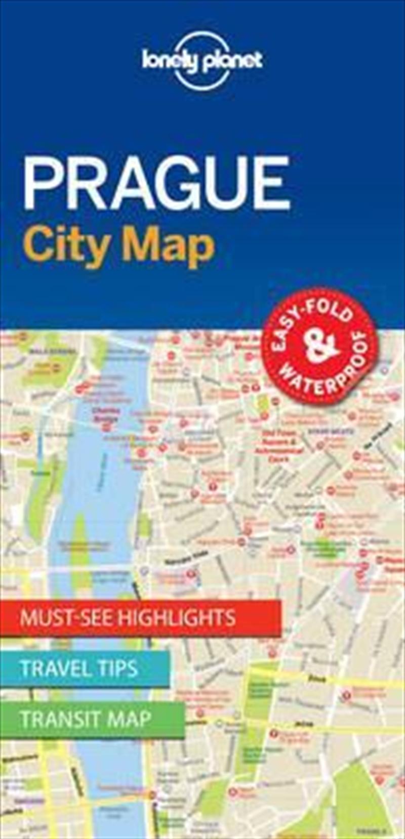 Prague City Map: Edition 1 | Sheet Map