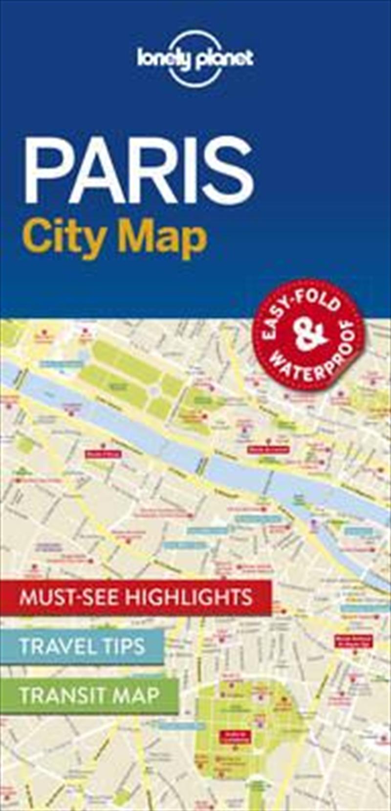Paris City Map: Edition 1 | Sheet Map