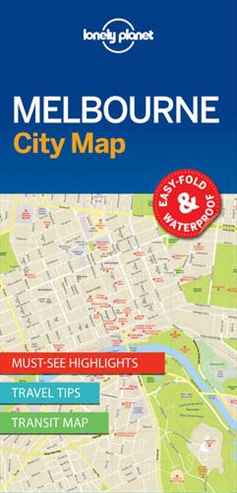 Melbourne City Map: Edition 1 | Sheet Map