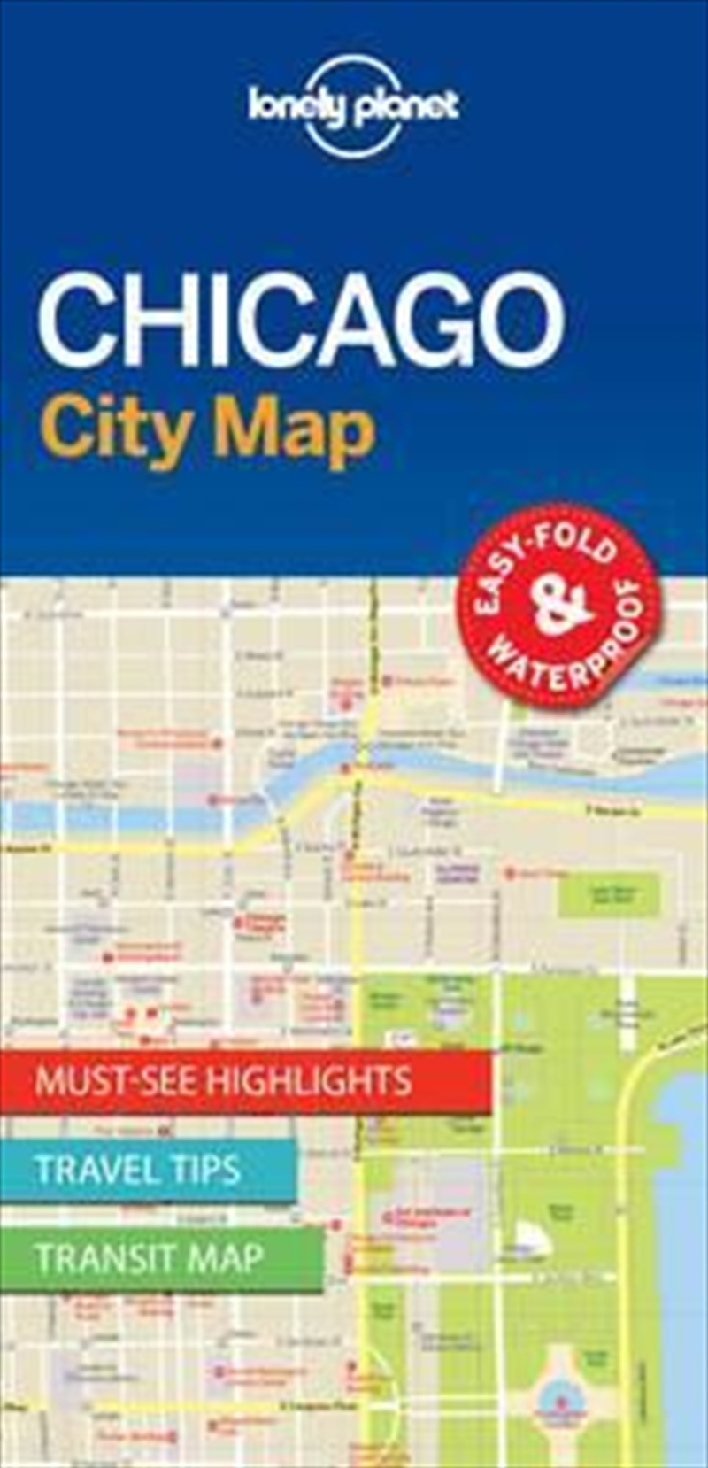 Chicago City Map: Edition 1 | Sheet Map