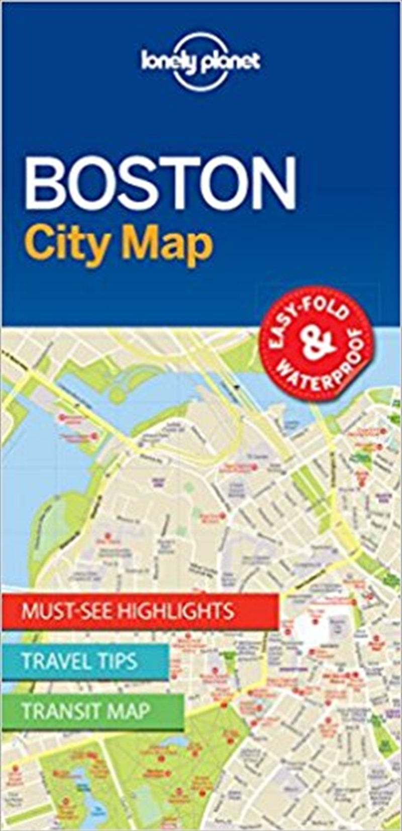 Boston City Map: Edition 1   Sheet Map