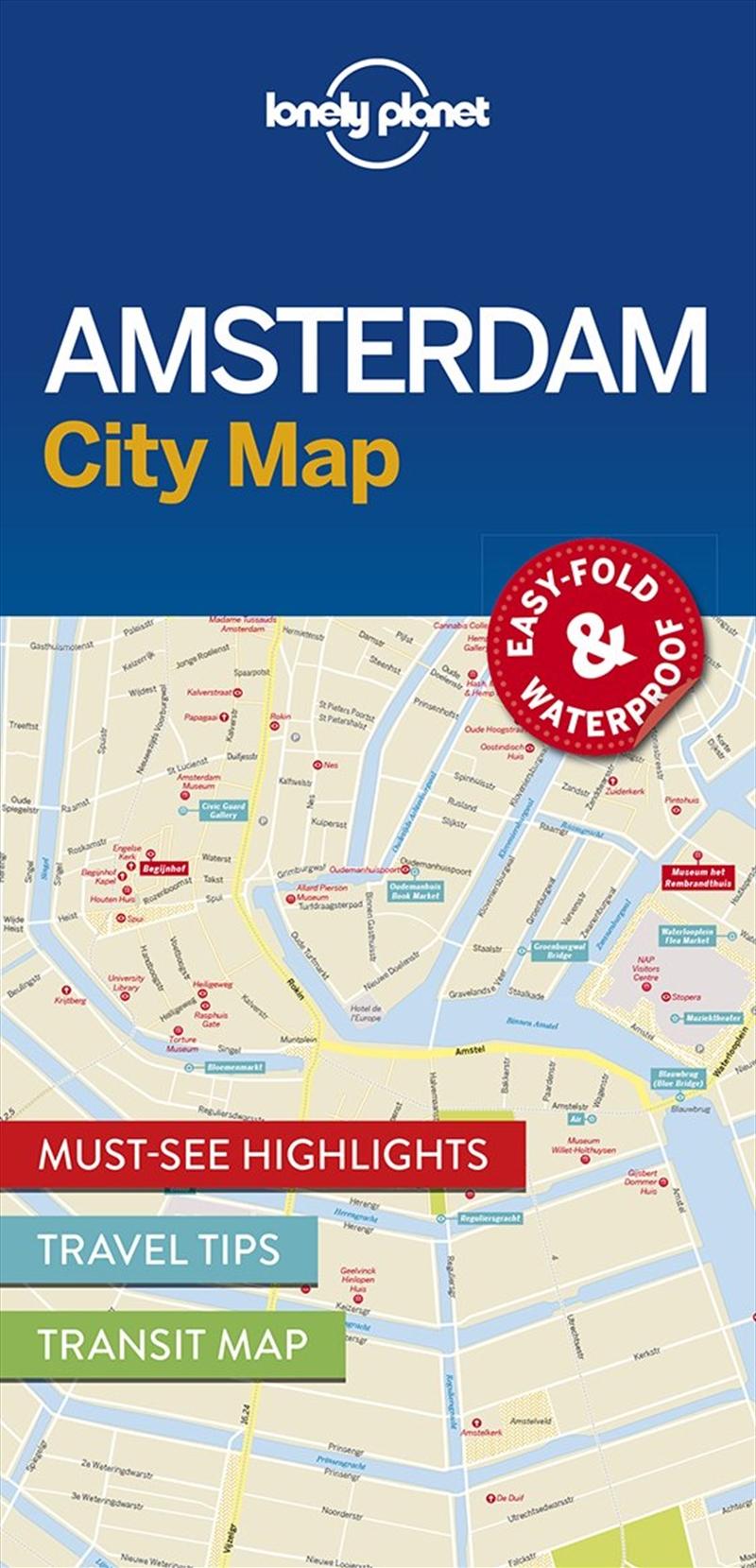 Amsterdam City Map: Edition 1 | Sheet Map