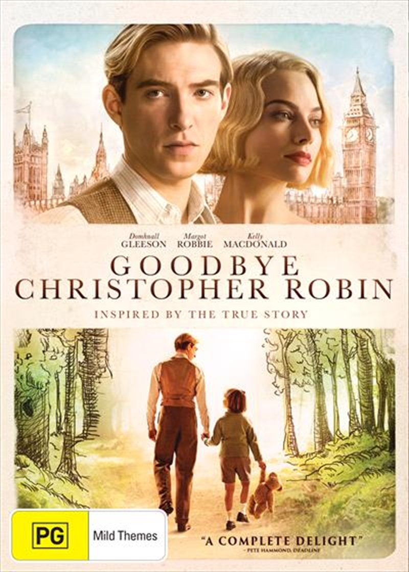 Goodbye Christopher Robin | DVD