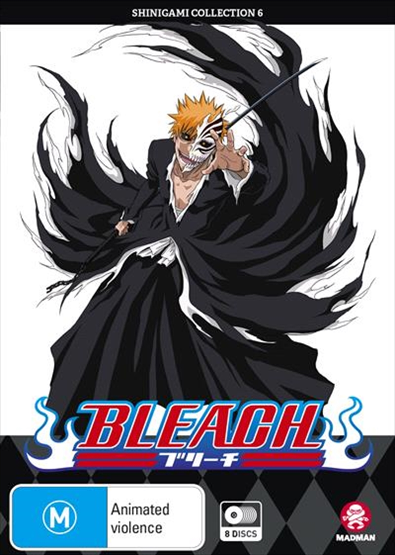 Bleach Shinigami - Collection 6 - Eps 217-267 | DVD