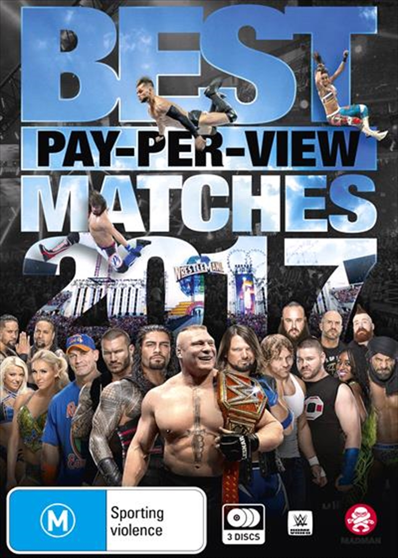 WWE - Best Pay-Per-View Matches Of 2017   DVD