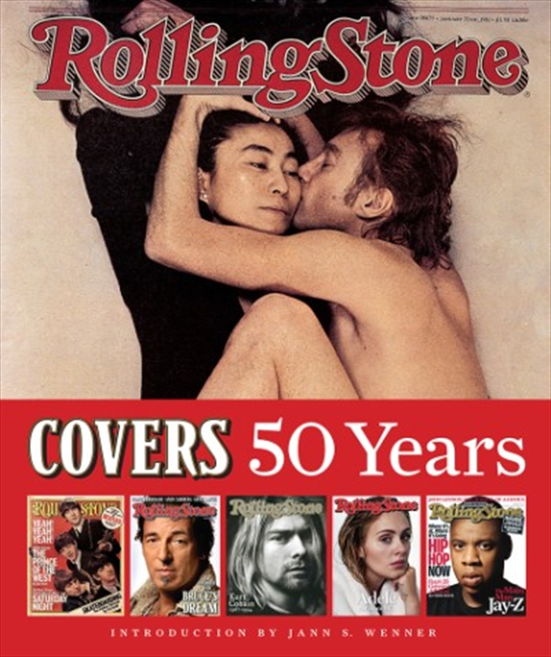 Rolling Stone Covers/50 Years | Paperback Book