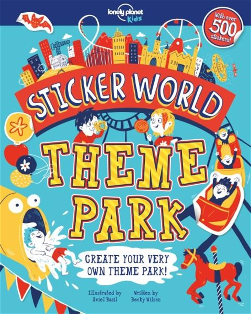 Sticker World - Theme Park | Paperback Book