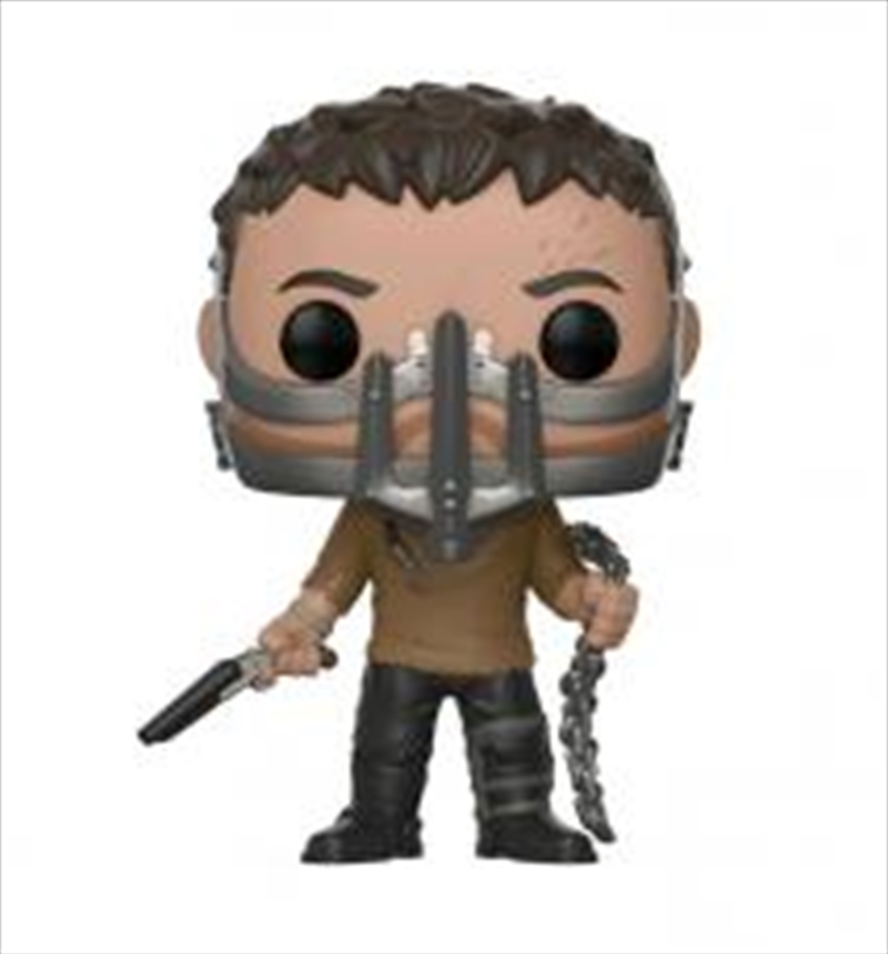 Max With Cage Mask   Pop Vinyl