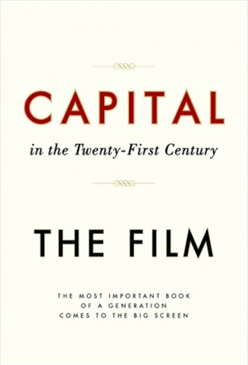 Capital In The 21st Century | DVD