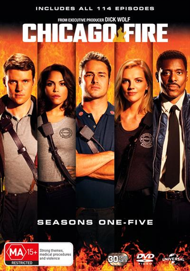 Chicago Fire - Season 1-5 Boxset | DVD