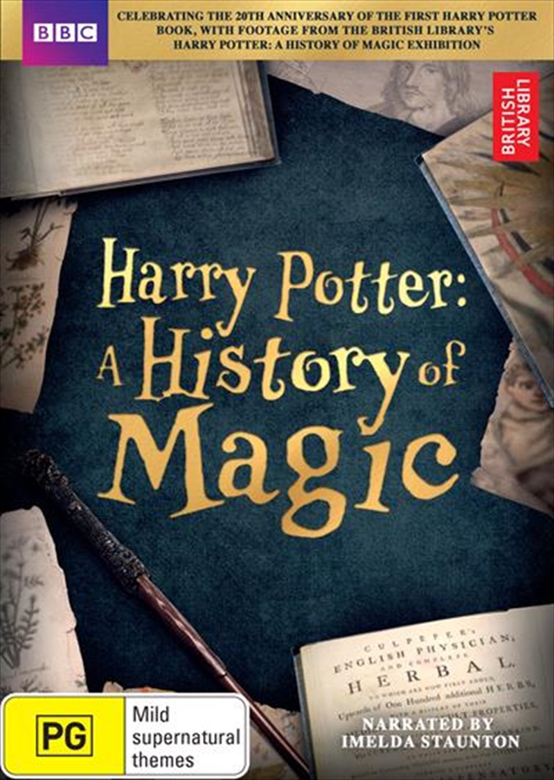 Harry Potter - A History Of Magic | DVD