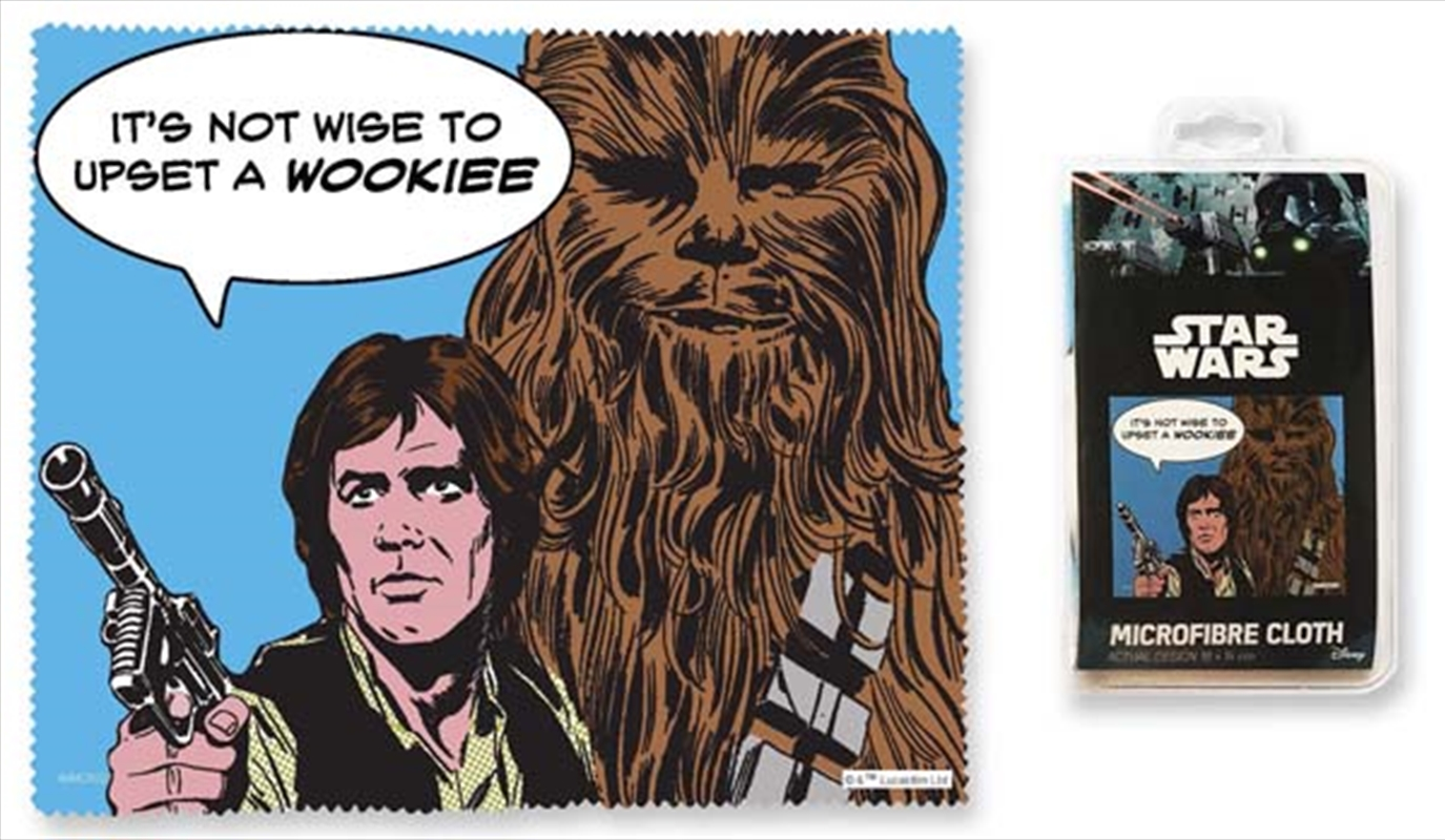 Star Wars Han and Chewie - Its Not Wise Microfibre Cloth | Accessories