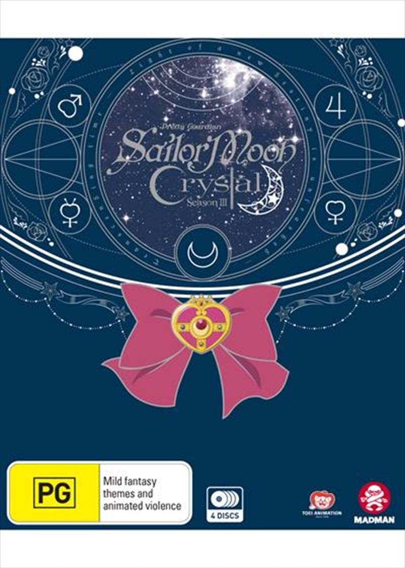 Sailor Moon - Crystal - Set 3 - Eps 27-39 - Limited Edition | Blu-ray/DVD