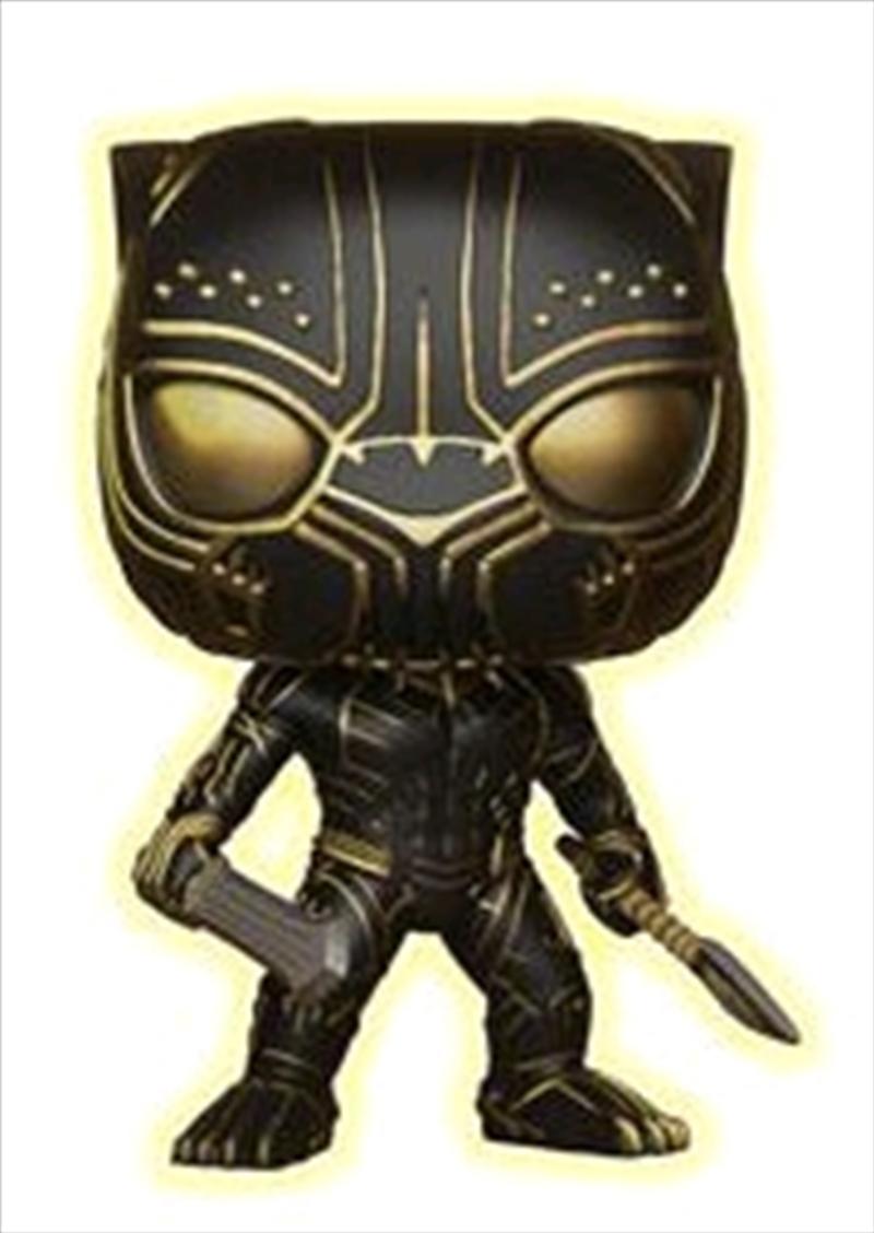 Black Panther - Killmonger Panther Glow US Exclusive | Pop Vinyl