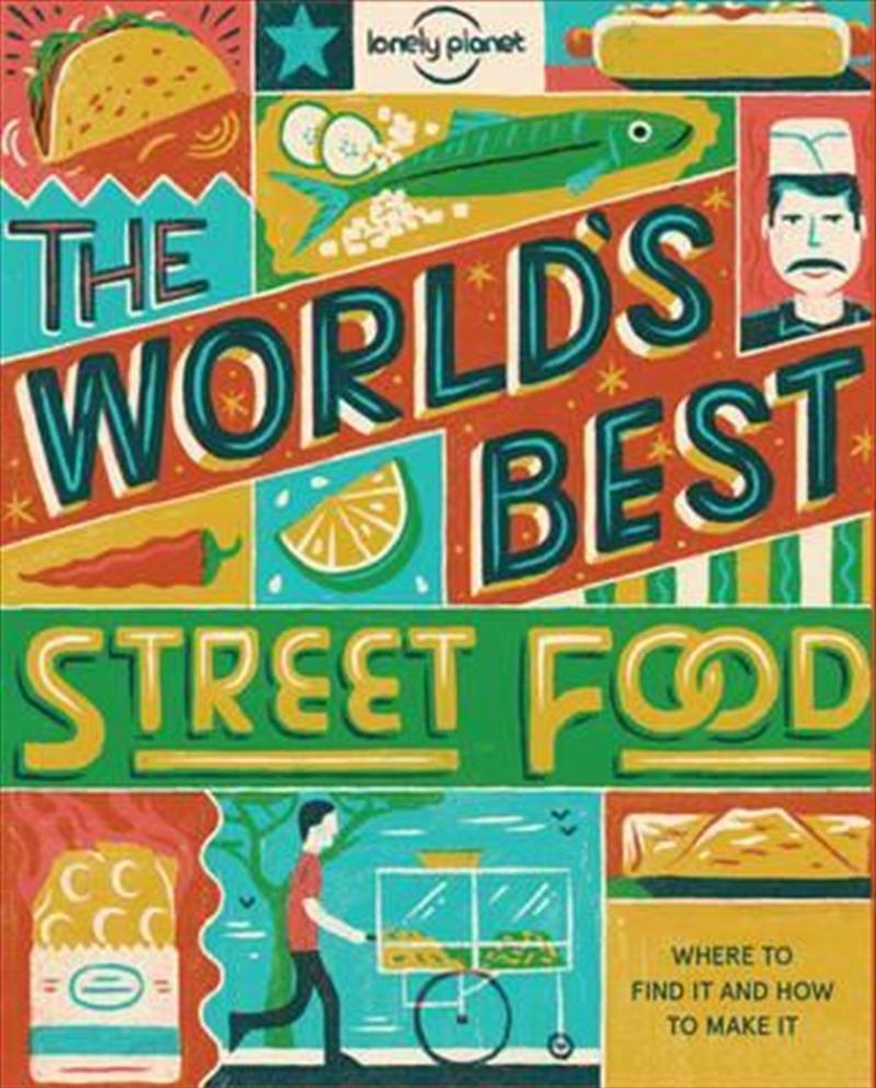 World's Best Street Food mini | Paperback Book