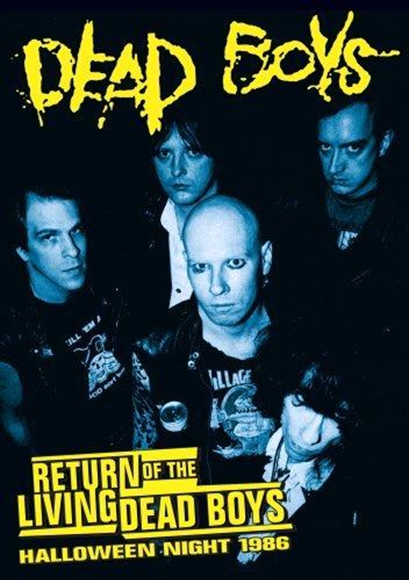 Return Of The Living Dead Boys - Halloween Night 1986 | DVD