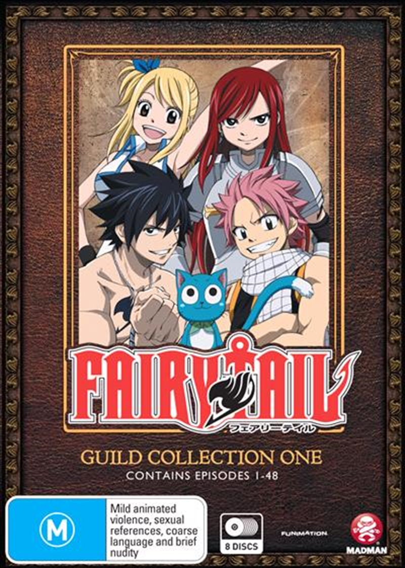 Fairy Tail Guild - Collection 1 - Eps 1-48 | DVD