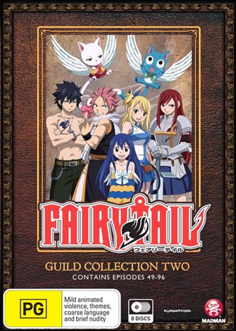 Buy Fairy Tail Guild Collection 2 Eps 49 96 On Dvd On