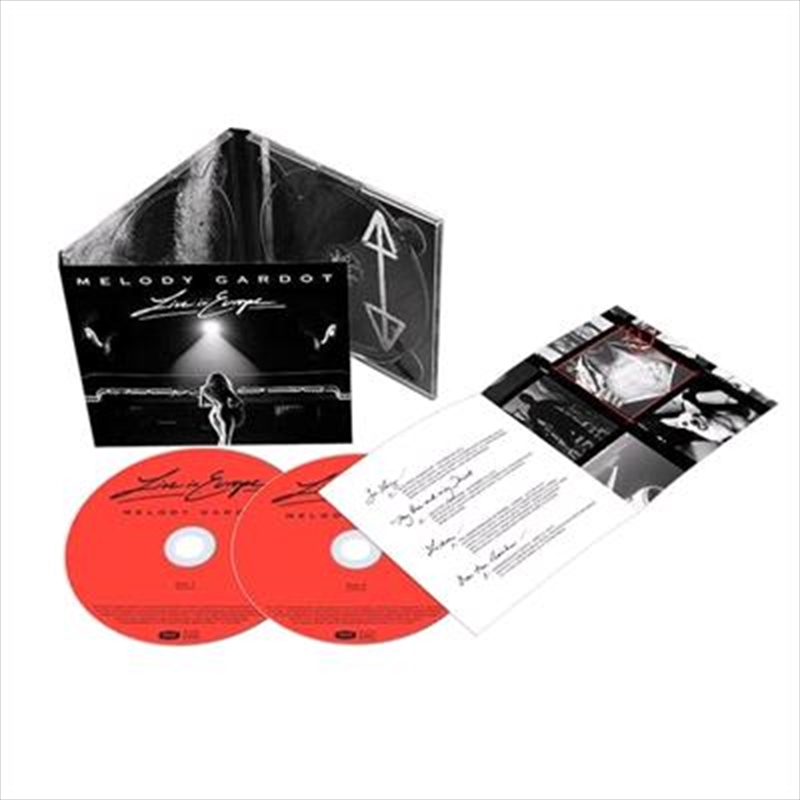 Live In Europe | CD