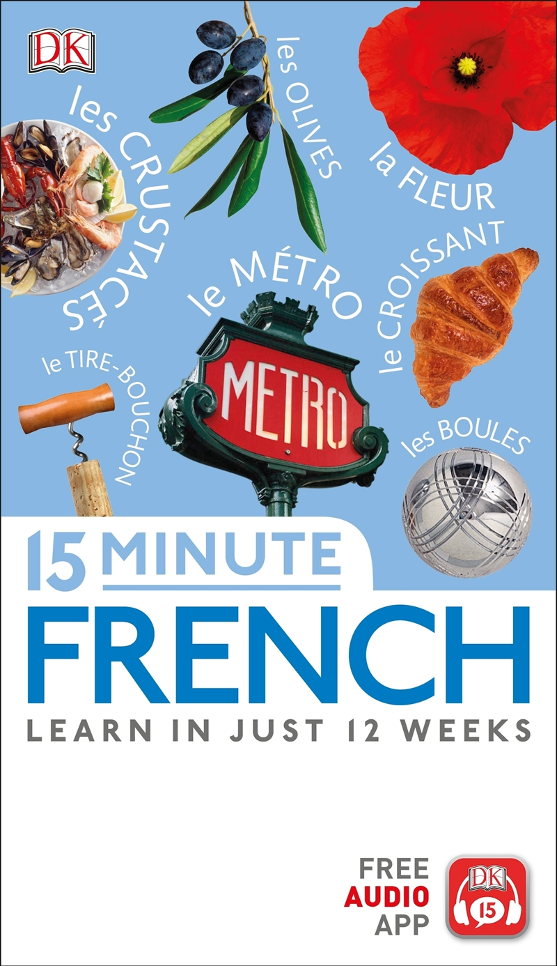 15 Minute French | Paperback Book
