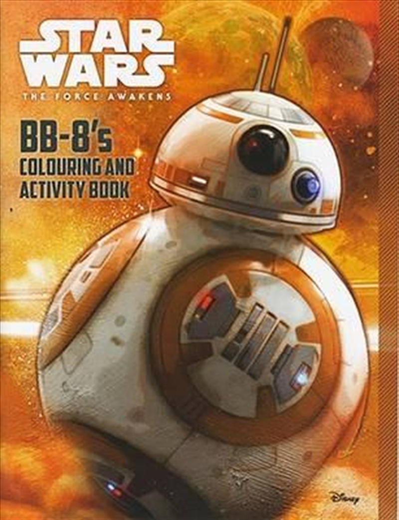 BB-8's Colouring and Activity Book | Paperback Book