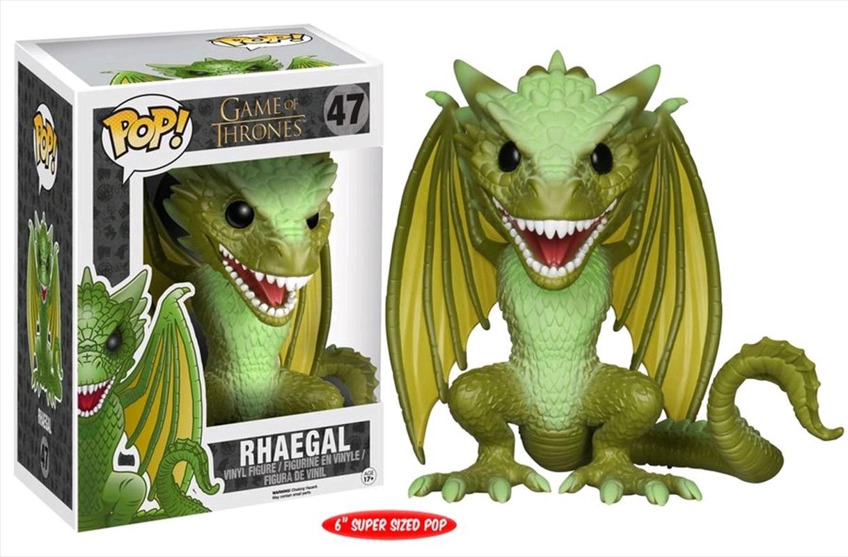 Rhaegal 6 Inch   Pop Vinyl