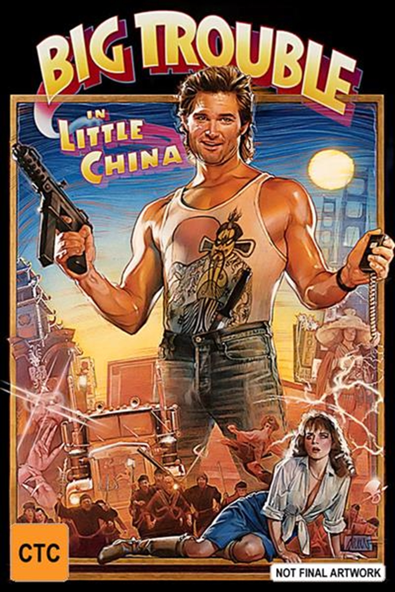 Big Trouble In Little China | Blu-ray