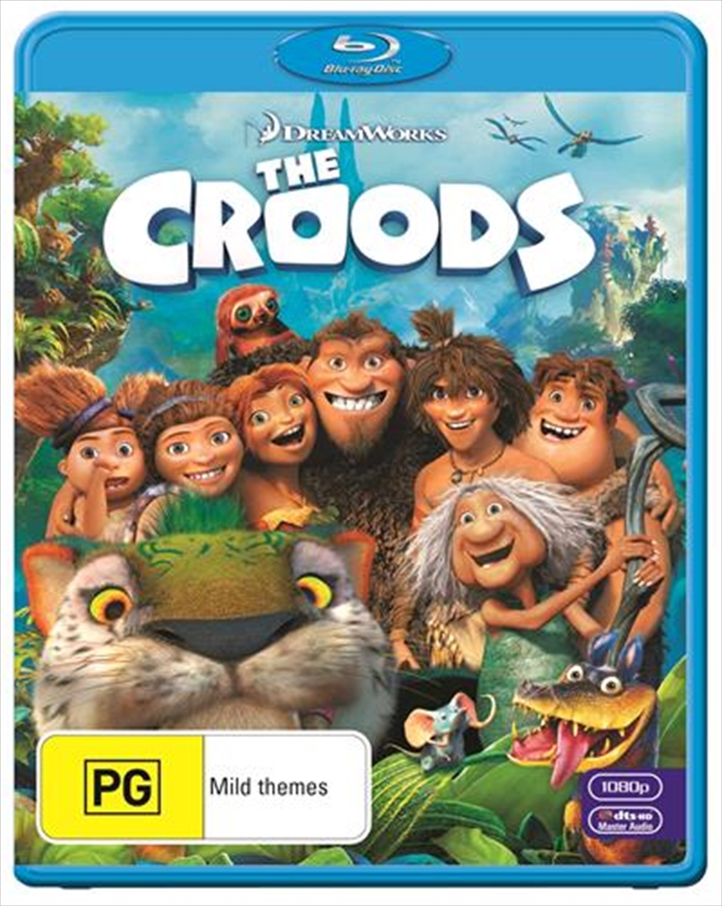 Croods, The   Blu-ray