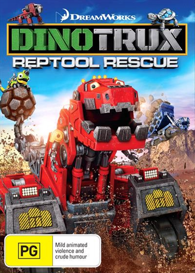 Dinotrux - Reptool Rescue | DVD