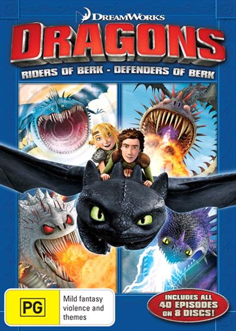 Dragons - Riders Of Berk  / Defenders Of Berk - Season 1-2 | DVD