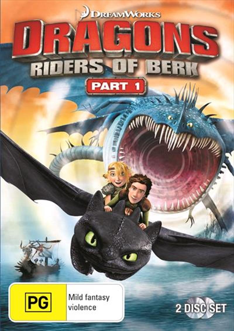 Dragons - Riders Of Berk - Part 1 | DVD