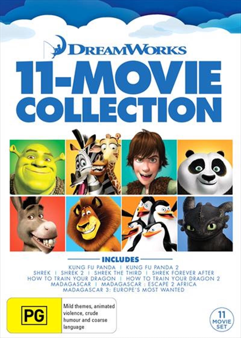 Dreamworks Mega Pack Boxset   DVD