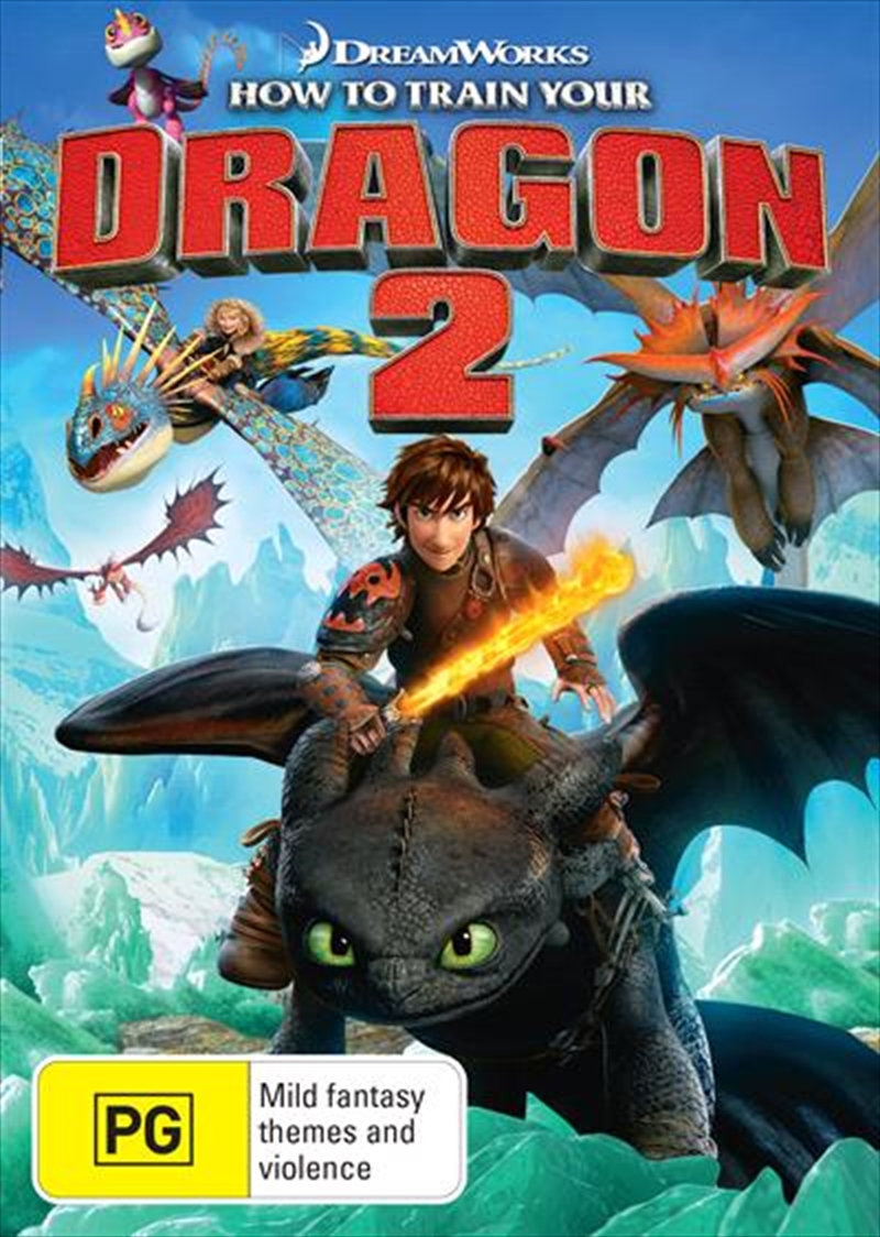 How To Train Your Dragon 2 | DVD