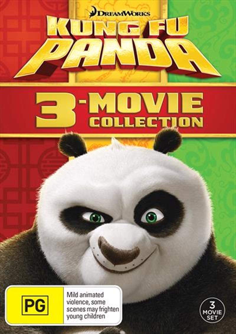 Kung Fu Panda/Kung Fu Panda 2/Kung Fu Panda 3 | DVD
