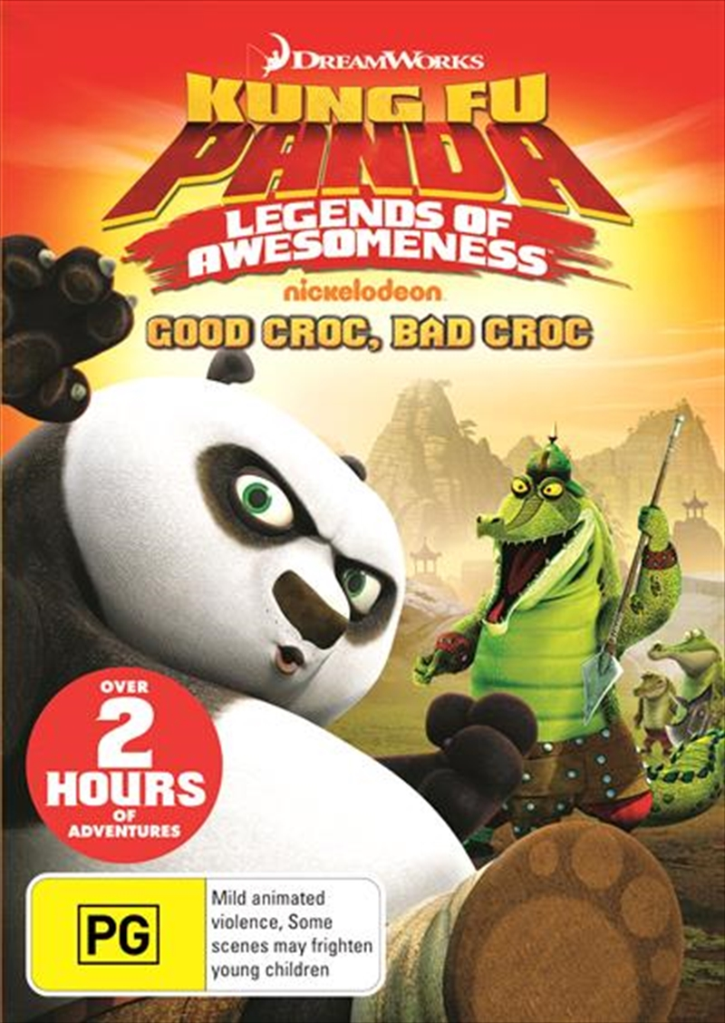 Kung Fu Panda - Legends Of Awesomeness - Vol 1 Animated, DVD | Sanity