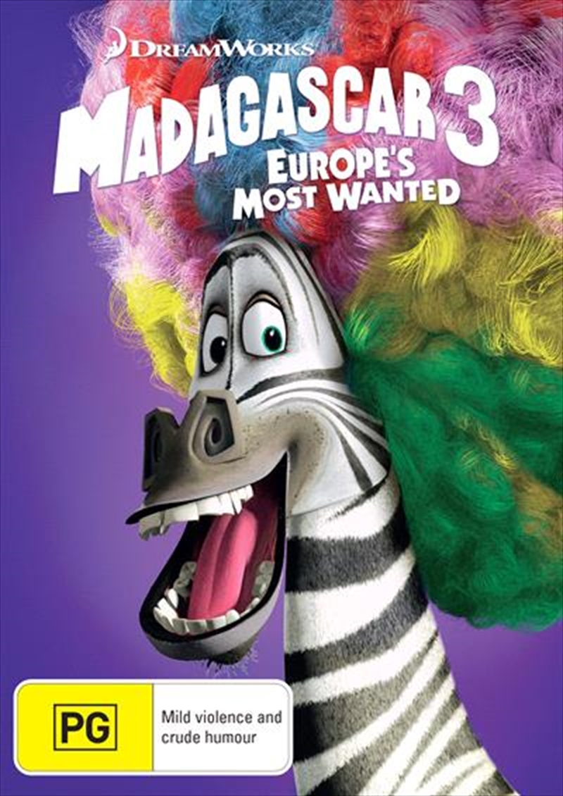 Madagascar 3 - Europe's Most Wanted | DVD