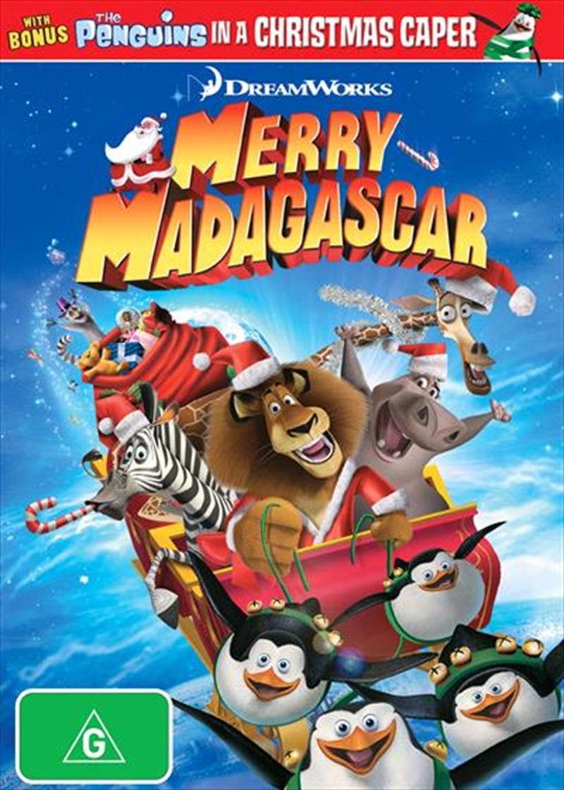 Merry Madagascar | DVD