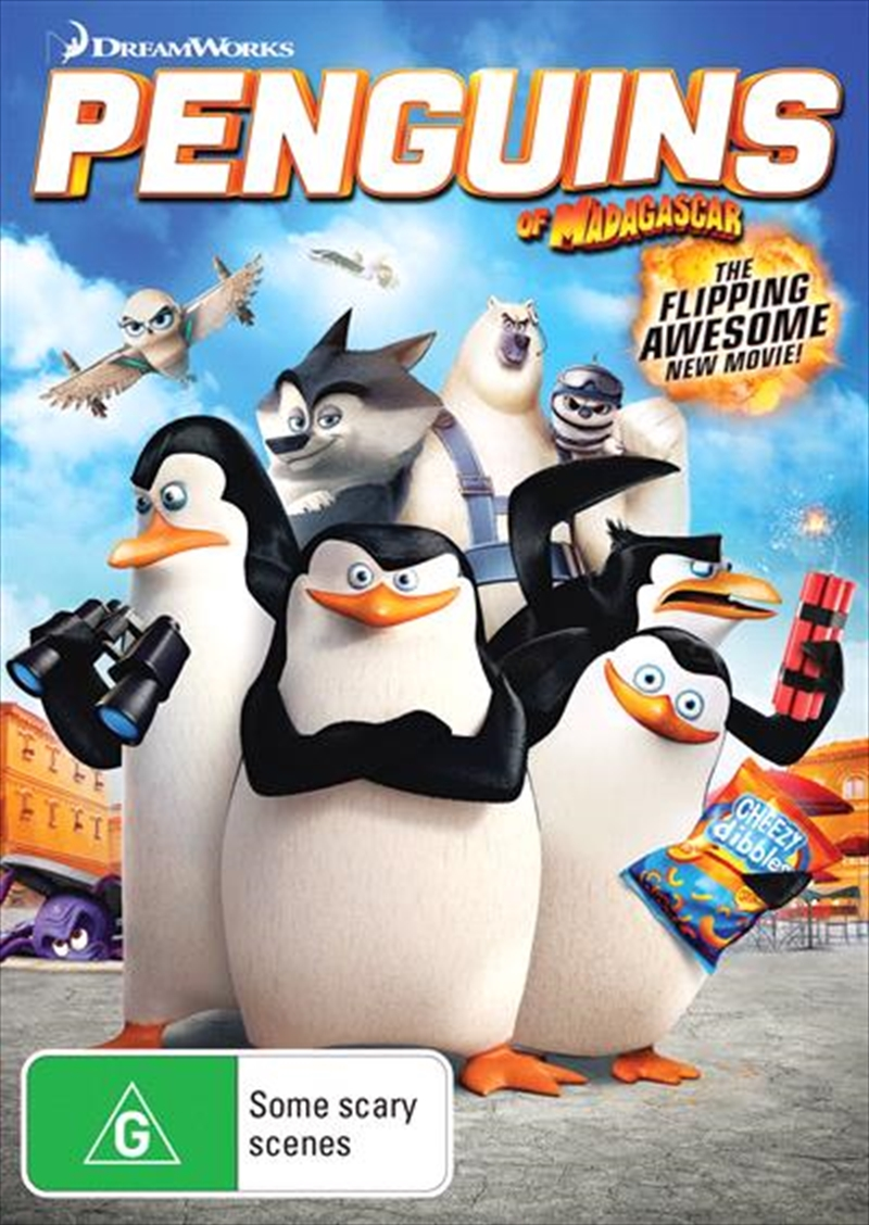 Penguins Of Madagascar - The Movie | DVD