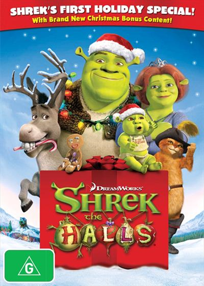 Shrek the Halls | DVD
