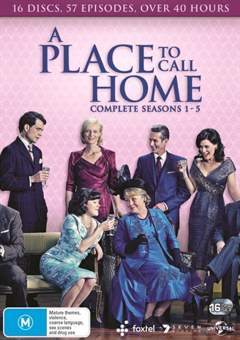 A Place To Call Home - Season 1-5 | Boxset | DVD