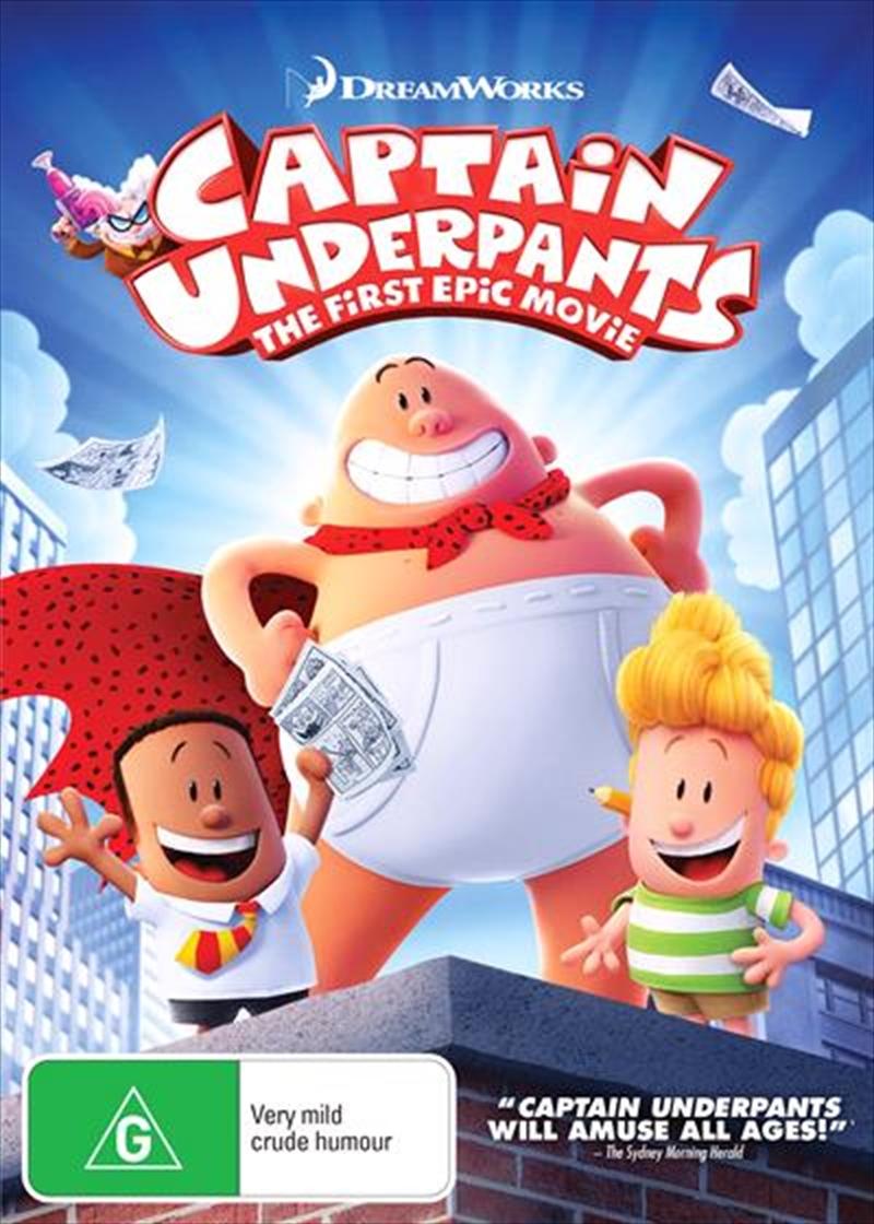 Captain Underpants | DVD