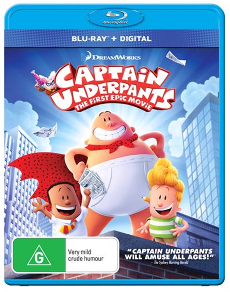 Captain Underpants | Blu-ray