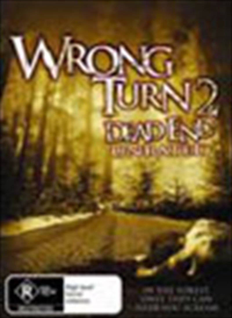 Wrong Turn 2 | DVD