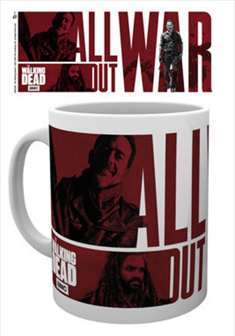 Walking Dead - All Out War 10oz Mug | Merchandise