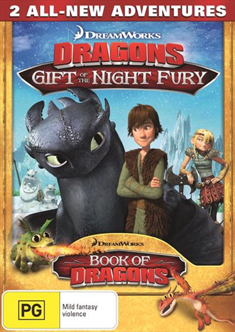 Dreamworks Dragons - Gift Of The Night Fury | DVD