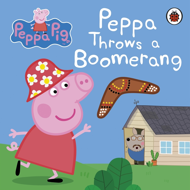 Peppa Pig: Peppa Throws a Boomerang | Board Book