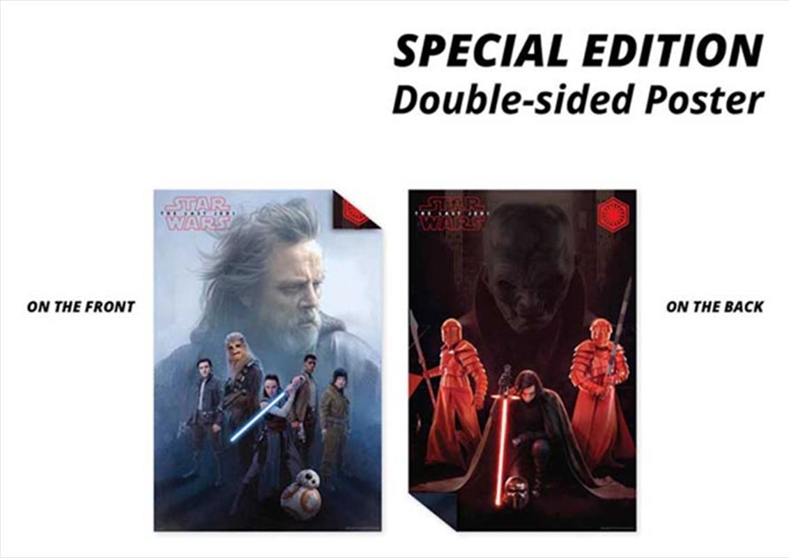 Star Wars Last Jedi - Double Sided | Merchandise