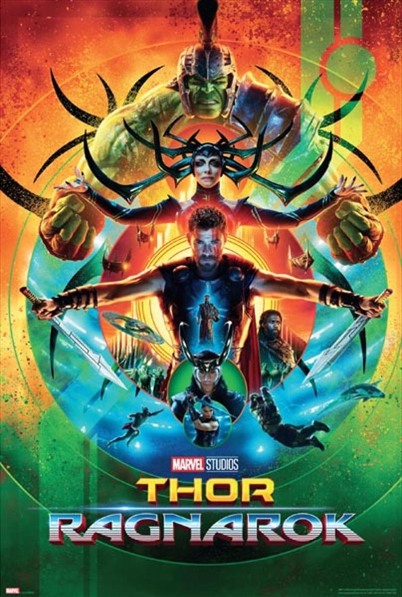 Thor Ragnarok - One Sheet   Merchandise