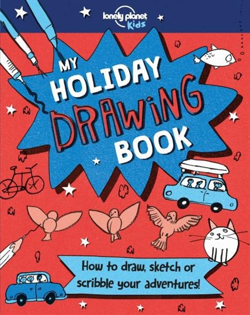 My Holiday Drawing Book | Hardback Book
