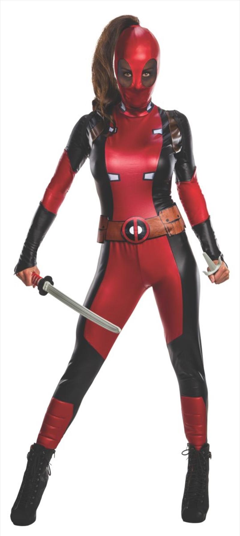 Deadpool - Secret Wishes Womens -  Large | Apparel